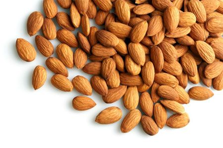ALMONDS AND OTHER NUTS (WITH SKINS INTACT)
