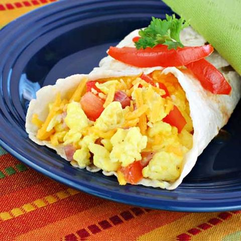 Breakfast: Huevos Rancheros Wrap