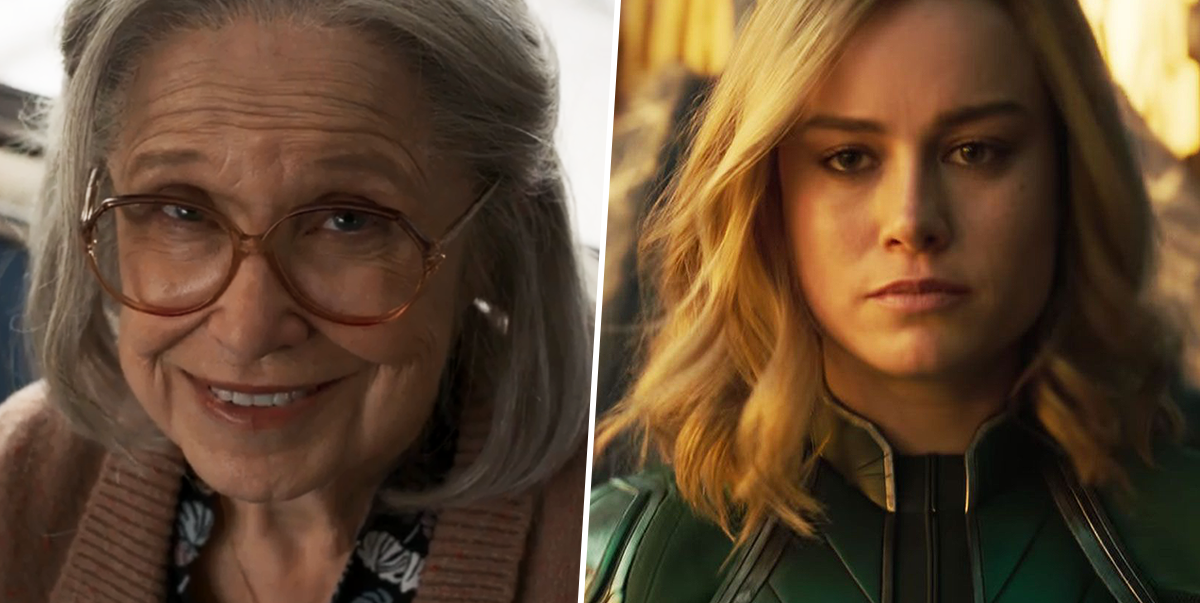 Capitana Marvel y Anciana