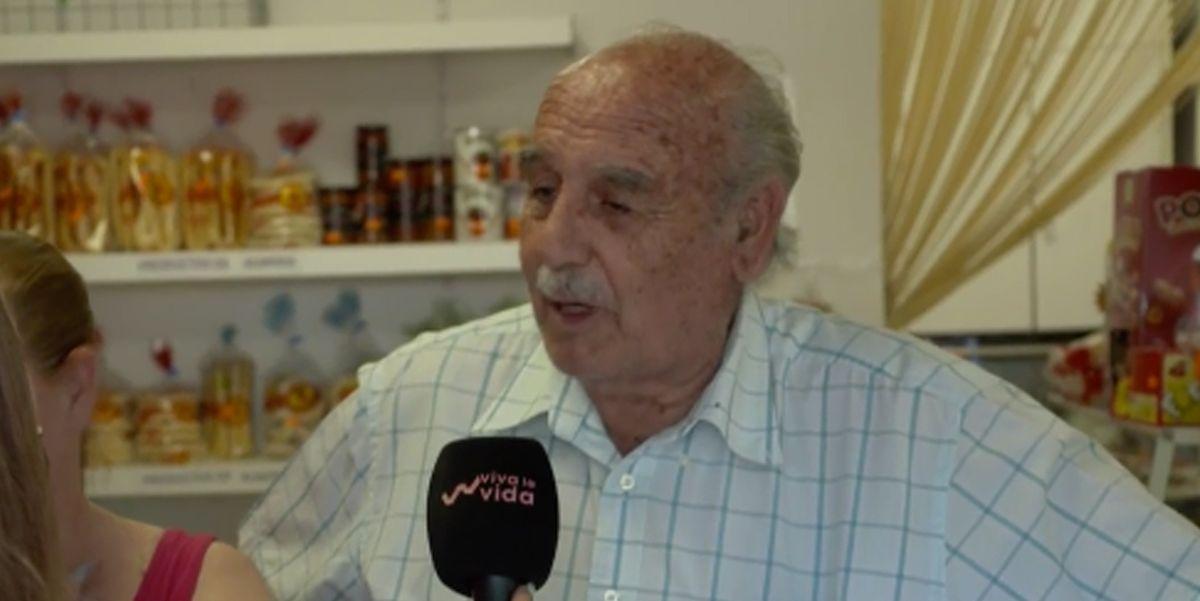 El abuelo de la amiga de Ponce dan la cara por su nieta