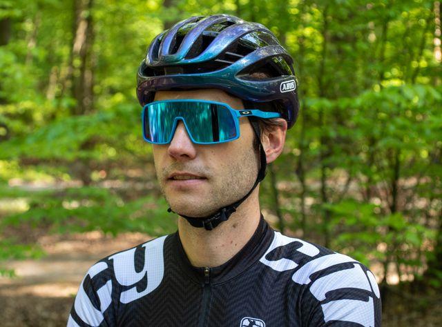 oakley, sutro, bril, fietsbril, brillentest, bicycling