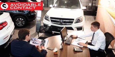 Mercedes-Benz car dealership in Volgograd