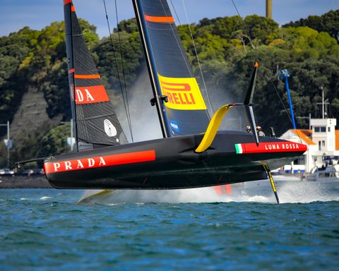 auckland nzl36th america's cup presented by pradaprada cup 2021