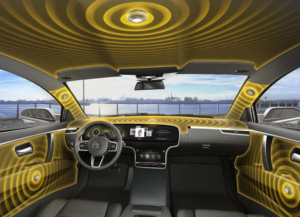 Continental Plays with the Future of Car Audio