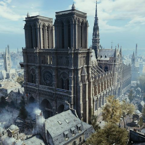 Landmark, Architecture, Strategy video game, Gothic architecture, City, Metropolis, Building, Medieval architecture, Sky, World,