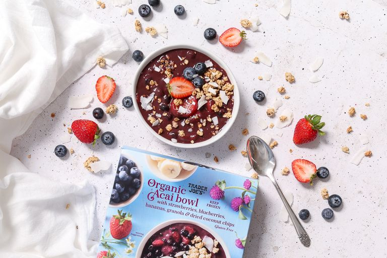 Trader Joe's Has Acai Bowls Now And They're About To Be Your Favorite Breakfast Ever