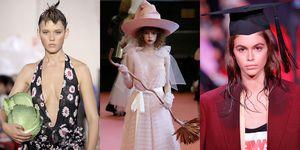 Funky accessoires New York Fashion Week Londen Fashion Week