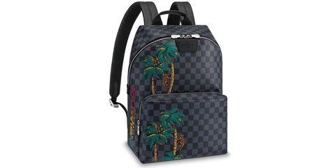 Green, Bag, Backpack, Fashion accessory, Handbag, Luggage and bags, Pattern,