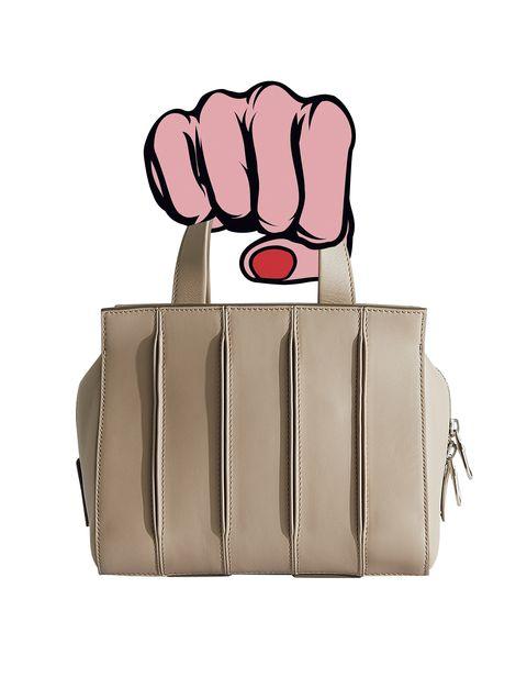accessori moda borse autunno inverno 2020 handbag di pelle max mara