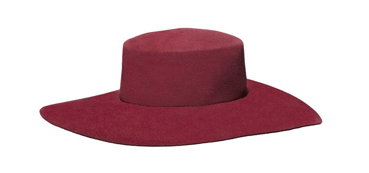 accessori-moda-rosso-cappello-alberta-ferretti