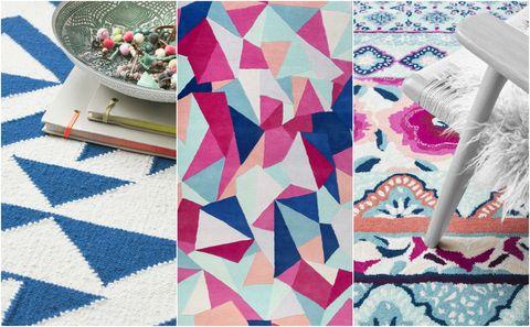 Accessorize rugs