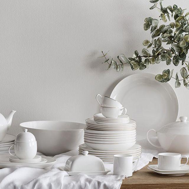 White, Still life photography, Porcelain, Dishware, Tableware, Serveware, Still life, Ceramic, Dinnerware set, Room,