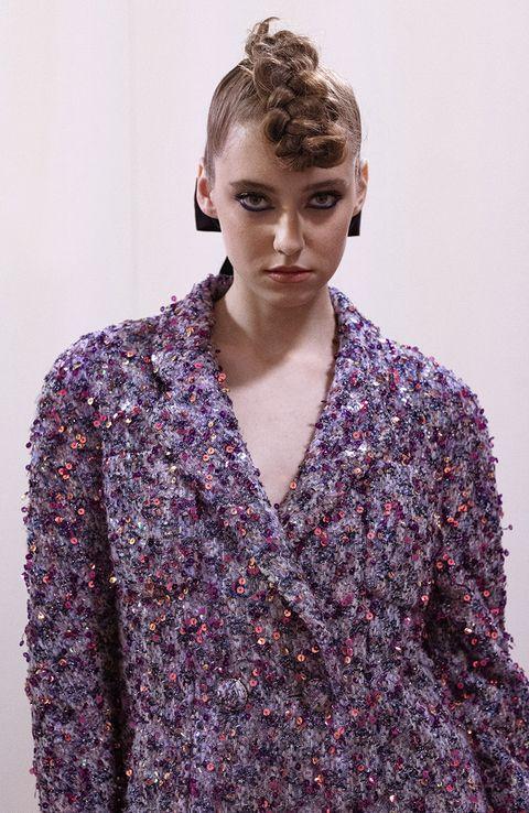 acconciature capelli autunno 2021 haute couture