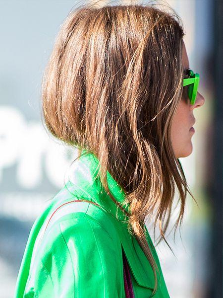 Acconciature capelli medi sfilati