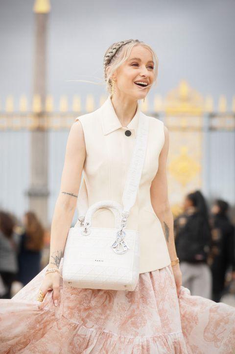 acconciature capelli street style paris fashion week 2020