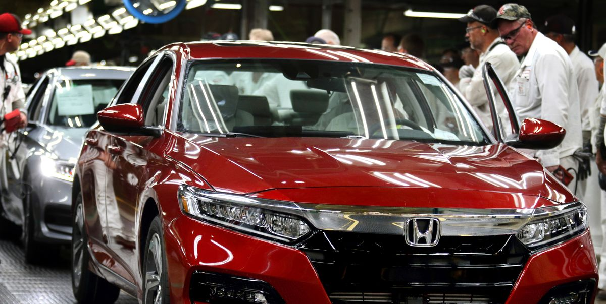 Honda Will Soon Be Building EVs and More Hybrids in Ohio