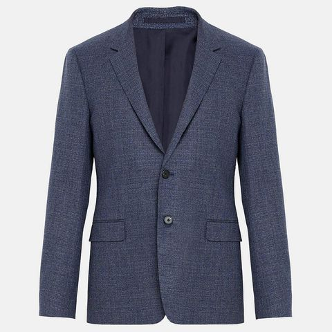 Clothing, Outerwear, Jacket, Blazer, Suit, Sleeve, Button, Pocket, Top, Formal wear,