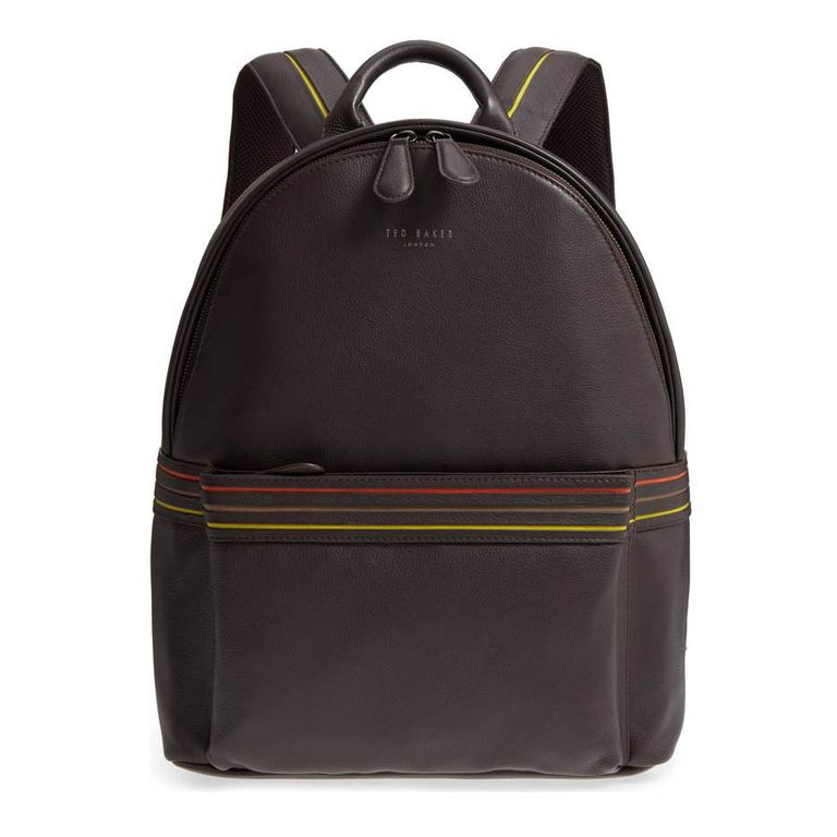 ted baker huntman stripe backpack