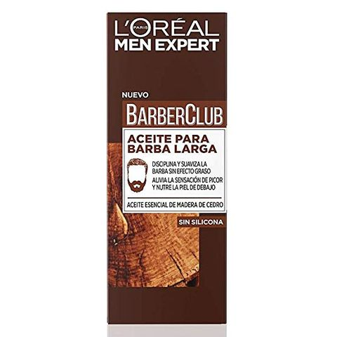 Barber Club aceite barba, aceite barba larga