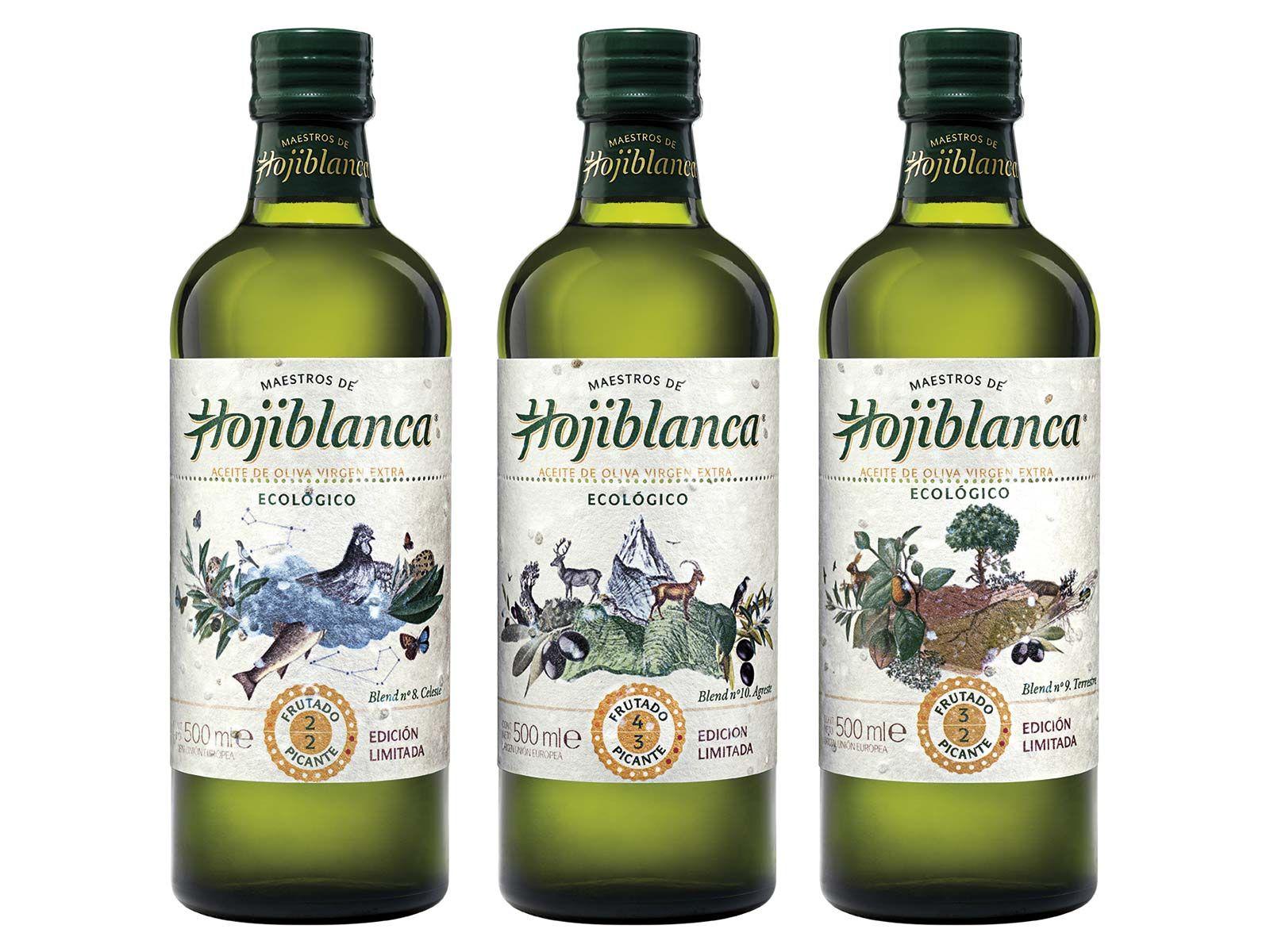 Productos gourmet: Aceite de oliva Hojiblanca