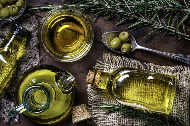 aceite de oliva y estrés
