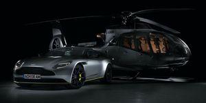 Aston Martin helicóptero