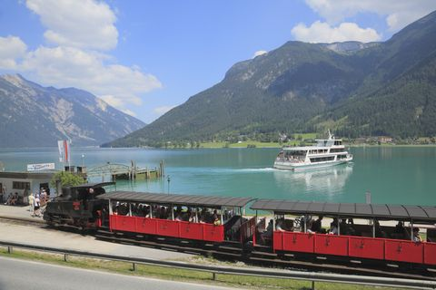 Steam train rides in Europe - Achensee