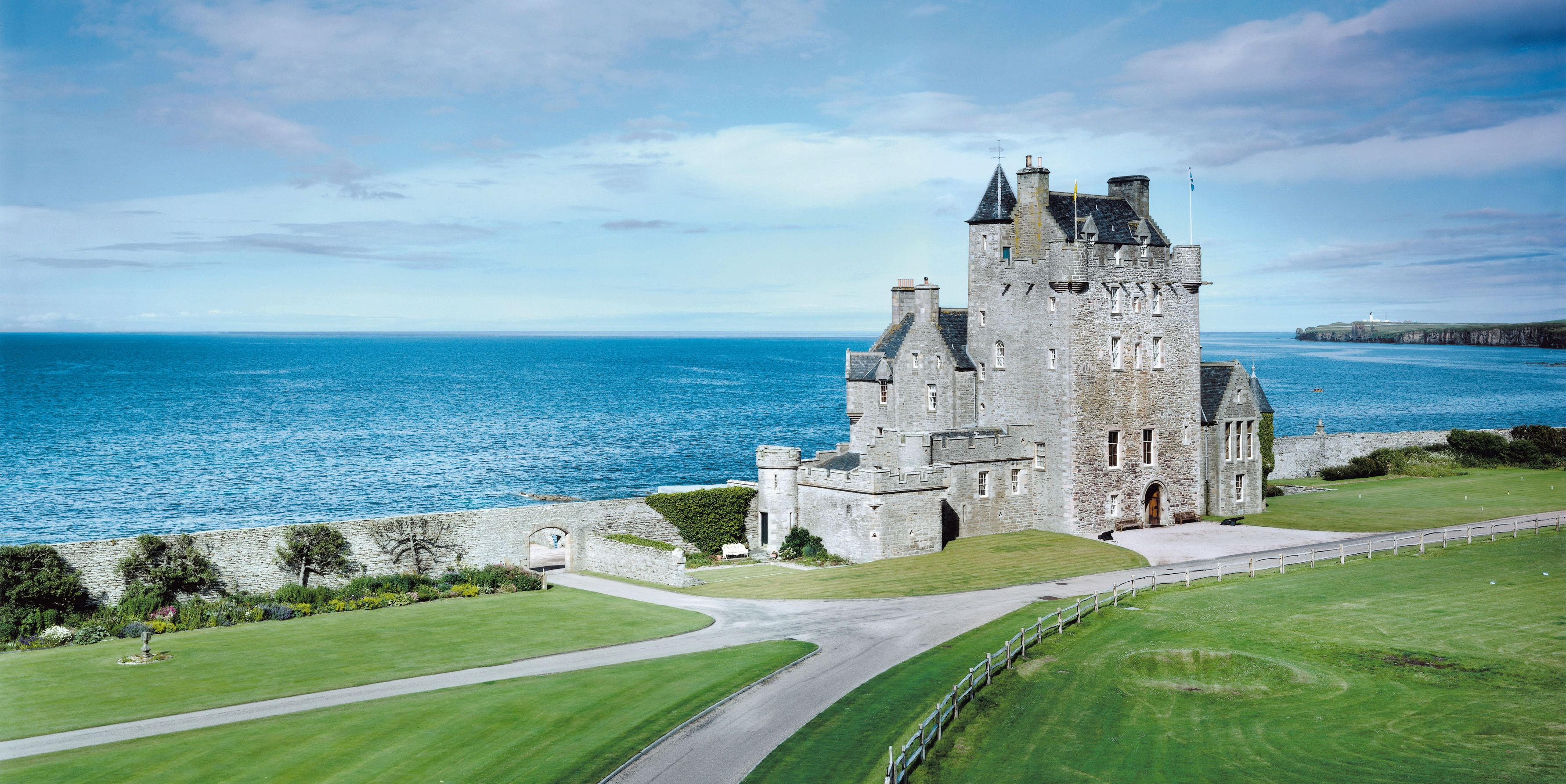 Ackergill Tower - Scotland - coastal - Knight Frank