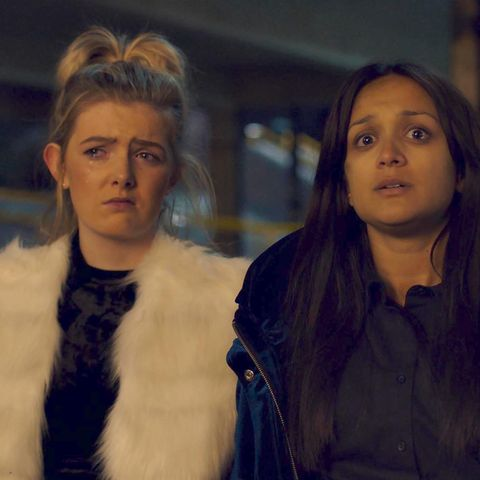 "Ackley Bridge stars discuss ""traumatic"" episode 2 ending and filming those emotional scenes"