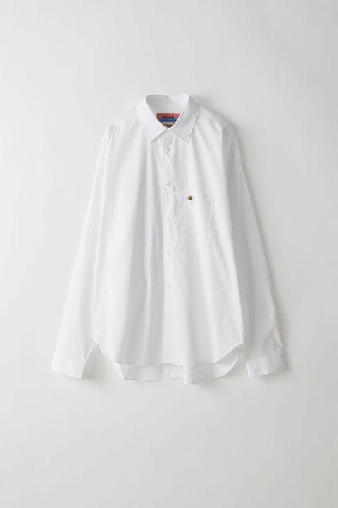 acne studios, camicia bianca, oversize