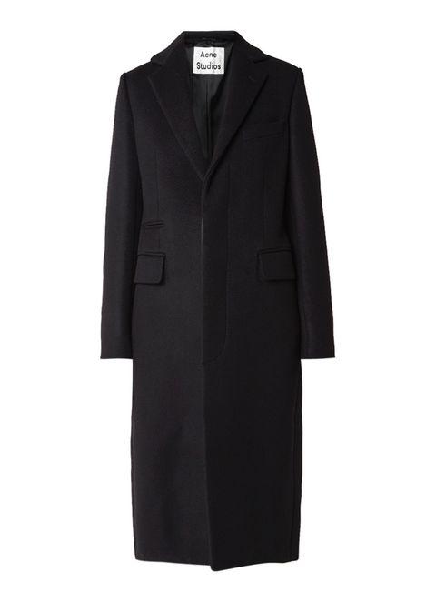 Acne jas zwart