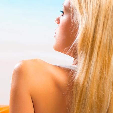 Is tanning an acne remedy?