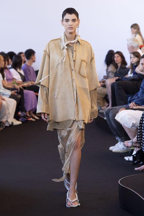Acne Studios lente zomer 2020 tijdens fashion week in Parijs