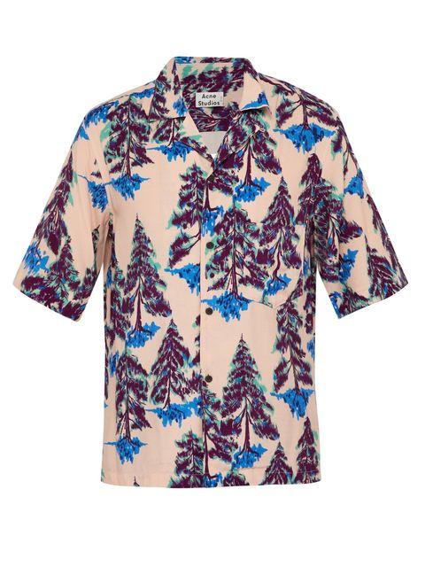 Camisas hombre manga corta estampadas