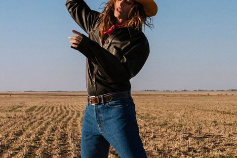 bbde451a638da Cindy Crawford Makes a Cadillac Ranch Look Good in Acne Studios s Fall  Campaign