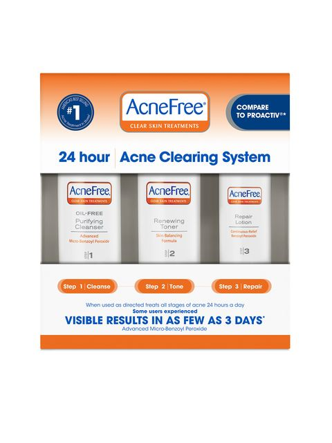 AcneFree 24HR Acne Clearing System