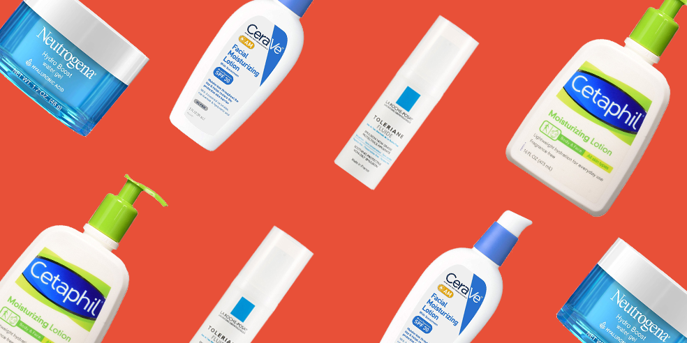 Best Moisturizers for Acne - Cetaphil, Neutrogena