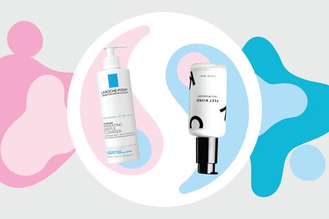 prescription acne and natural cream