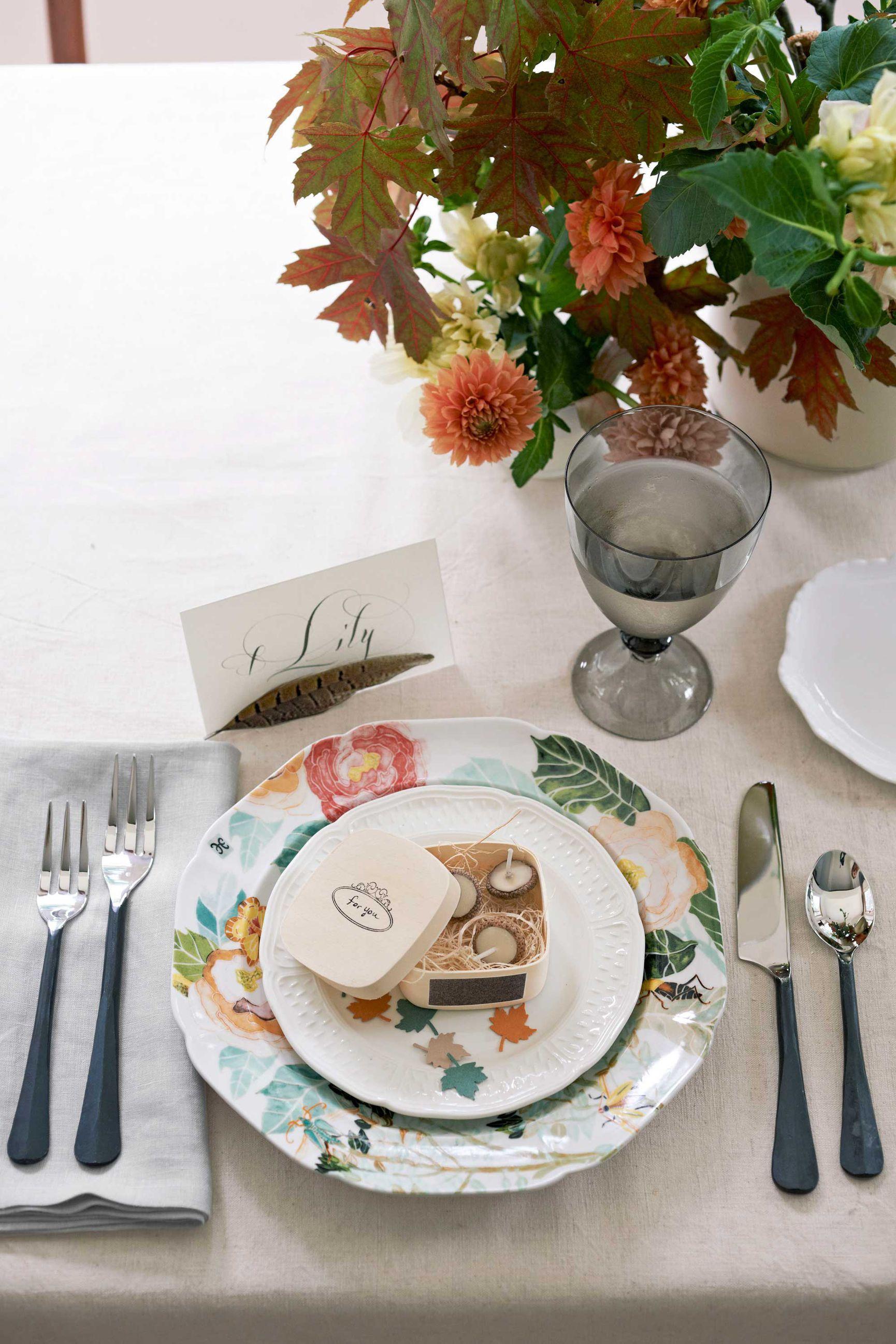 20 Thanksgiving Table Setting Ideas u2014