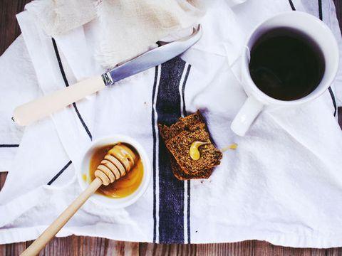 Food, Breakfast, Honey, Cuisine, Dessert, Dish, Tableware, Fashion accessory, Finger food,