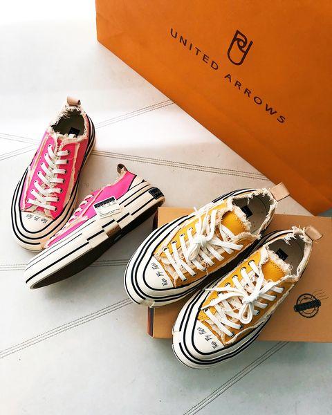 UNITED ARROWS x 吳建豪推出聯名球鞋xVESSEL G.O.P. Lows