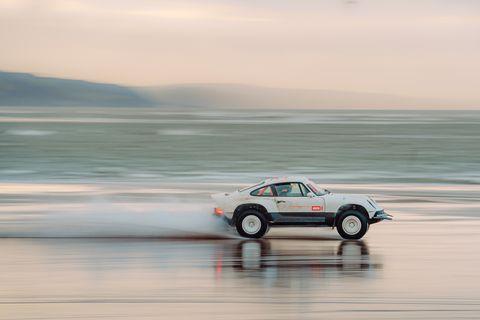 singer vehicle design off road porsche 911 rally car