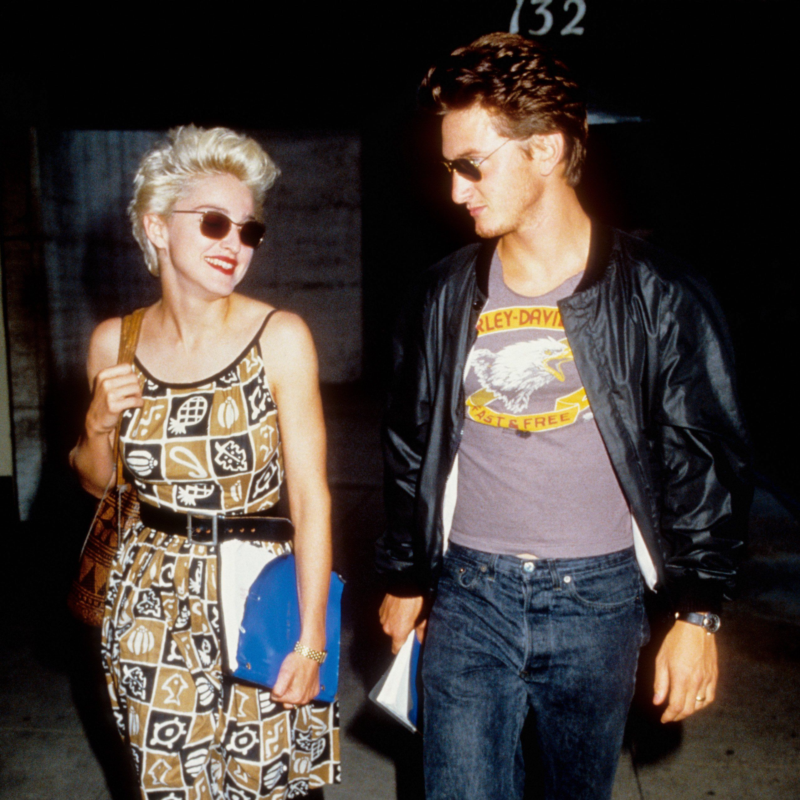 Madonna and Sean Penn These two megastars starred together on Shanghai Surprise and married in a quickie wedding in 1985. They divorced four years later after Penn reportedly struggled with their lack of privacy.