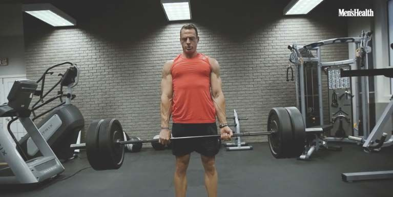 This Back and Bicep Workout Will Help You Get Action Hero ...