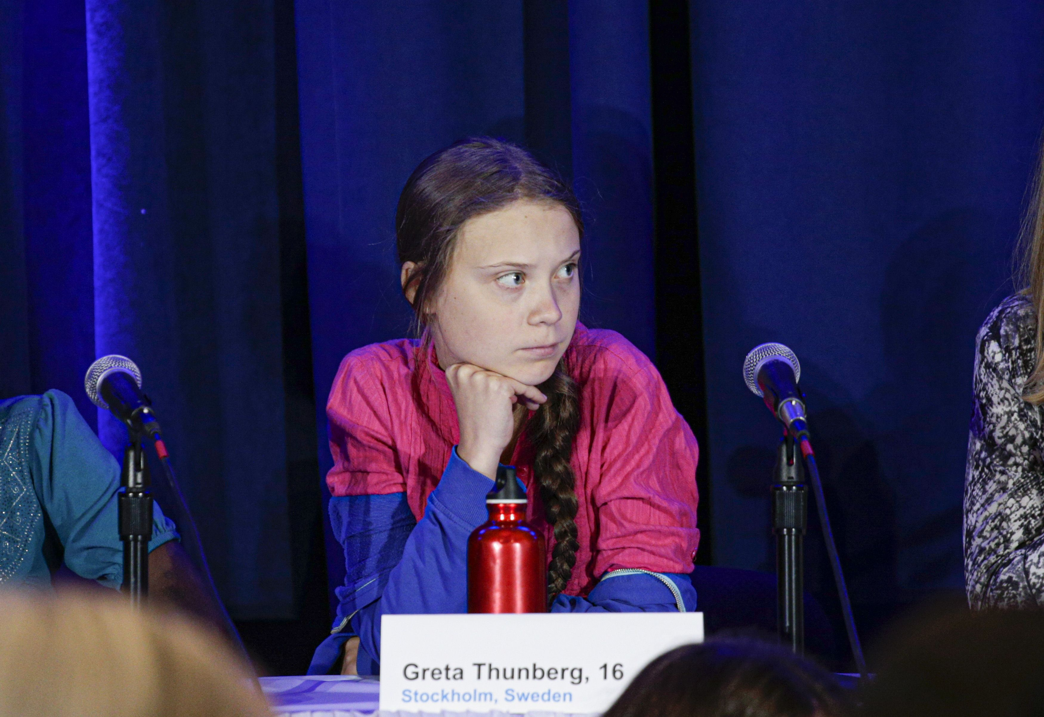 Greta Thunberg Gave President Trump a Withering Stare At The UN Climate Summit