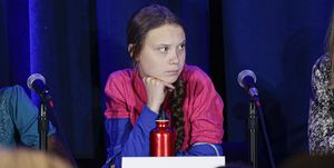 greta thunberg, climate action summit, speech, donald trump