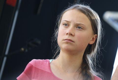 greta thunberg leads youth climate strike