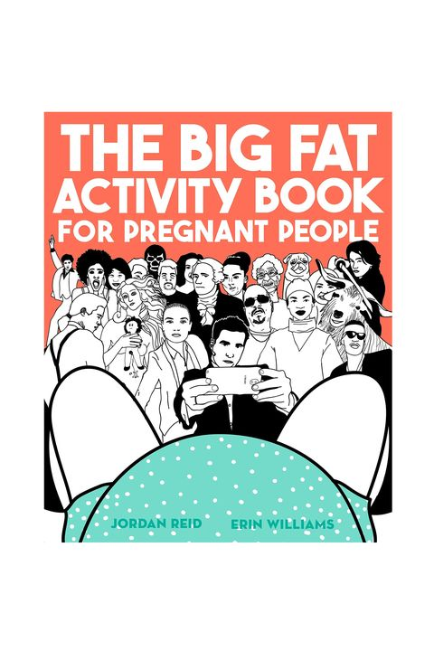 Mom To Be Gifts The Big Fat Activity Book For Pregnant People