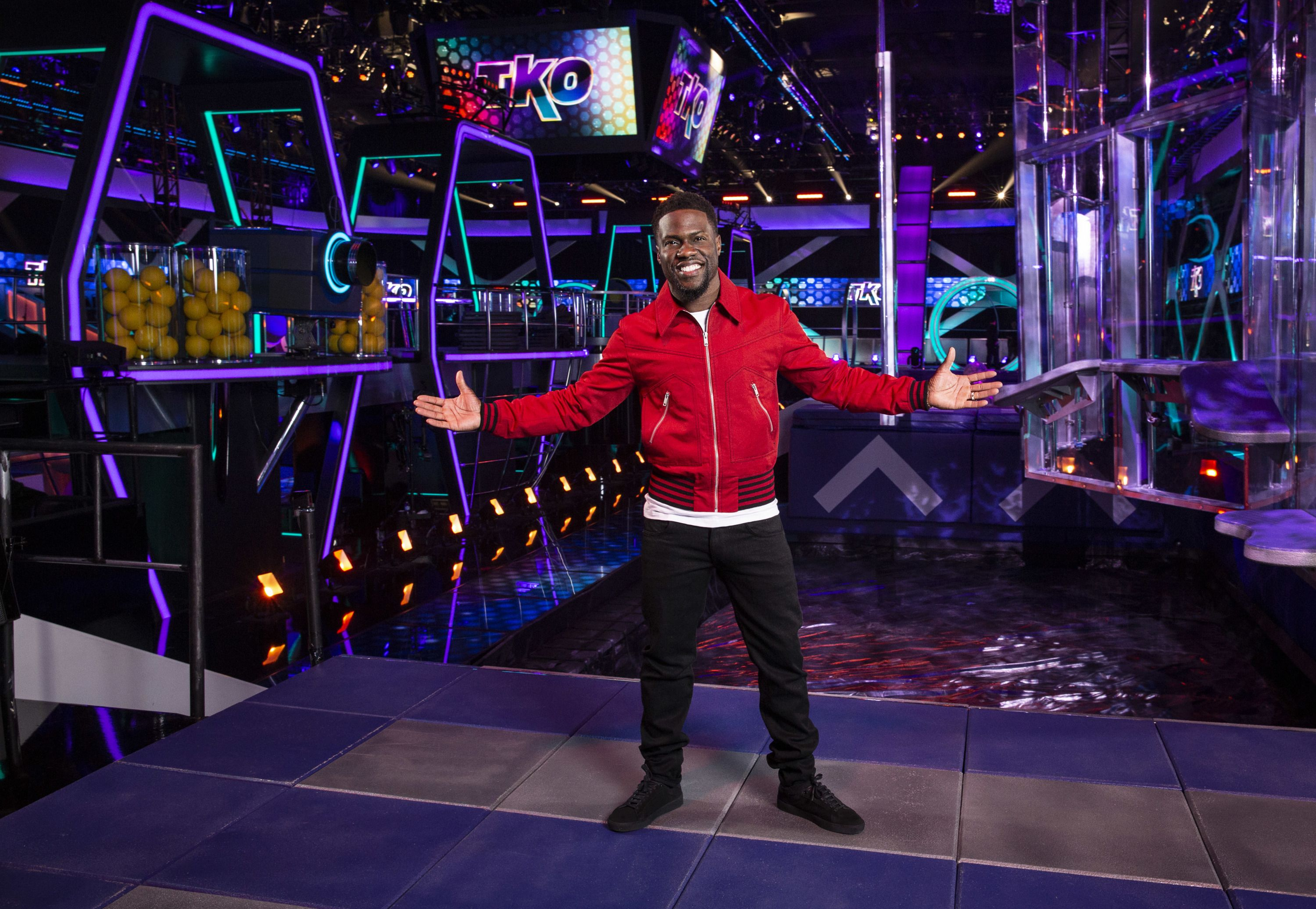 I Tried Kevin Hart's Total Knock Out - Kevin Hart's CBS TKO