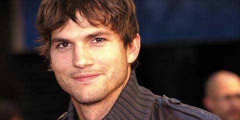 US actor Ashton Kutcher is pictured arri